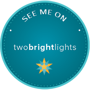 Two Bright Lights Badge